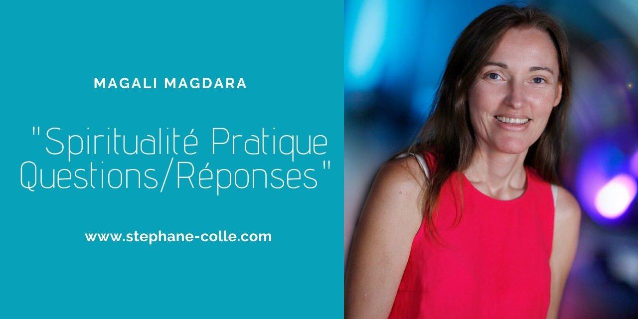 Questions/Réponses en direct avec Magali Magdara le 06/06/2019 à 20h00 heure Paris