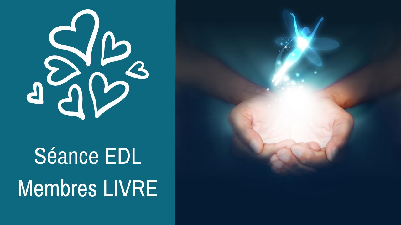20/06/2019 : Séance EDL privée – Membres livre et programme «Se libérer et vivre la magie de la vie»