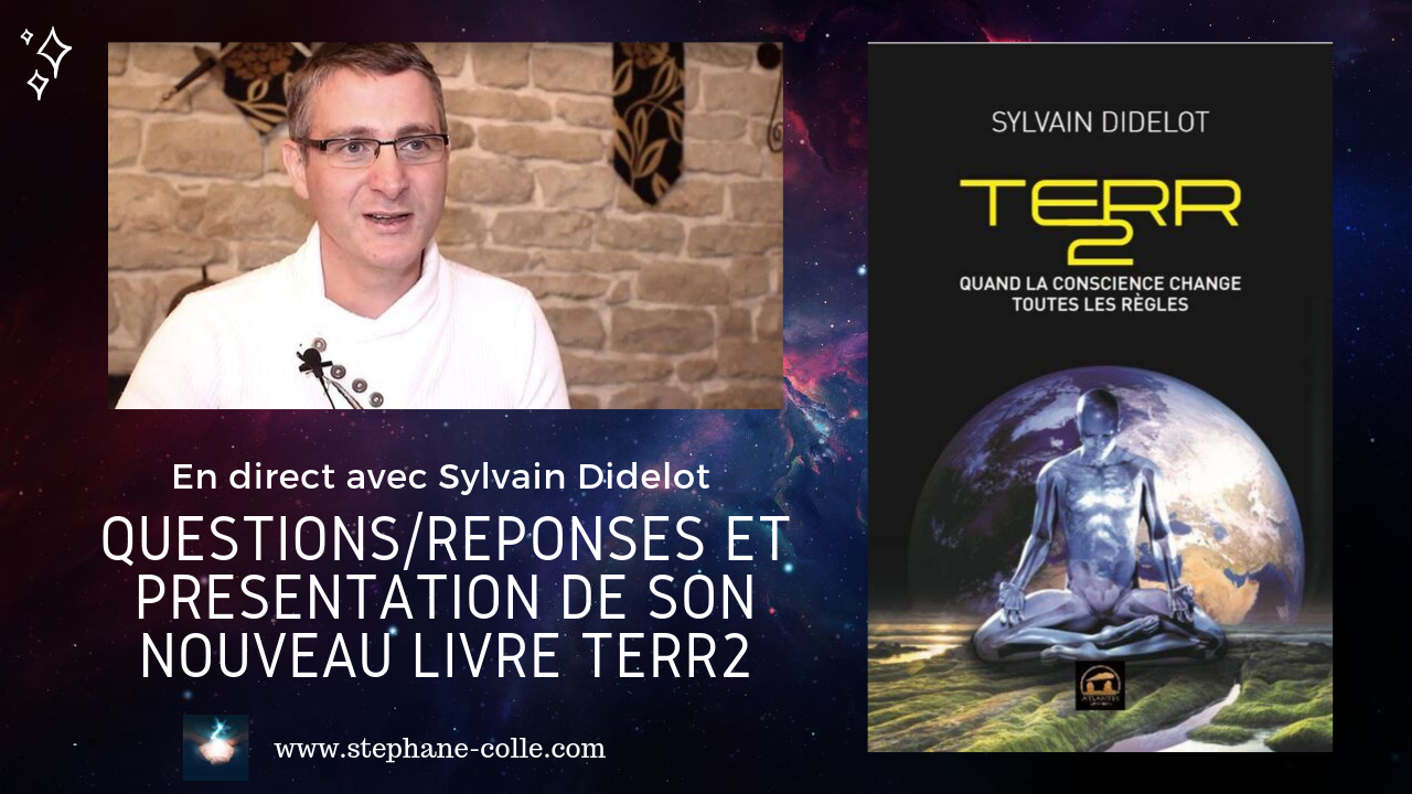 «Questions/Réponses» en direct avec Sylvain Didelot le 16 septembre 2019 à 20h00 heure de Paris