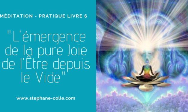 Pratique Livre 6 – «L'émergence de la pure Joie de l'Être depuis le Vide» Disponible en audio dans l'espace membre…