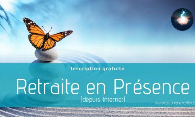 Retraite spirituelle en Présence – A distance depuis Internet