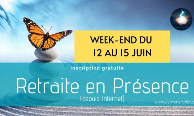 Nouvelle retraite spirituelle en Présence du 12 au 15 juin 2020 – A distance depuis Internet