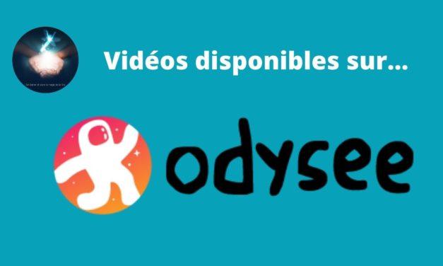Info : Vidéos sur Odysee en plus de YouTube…