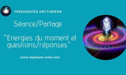 22/01/2021 Séance/Partage – Energies du moment et questions réponses