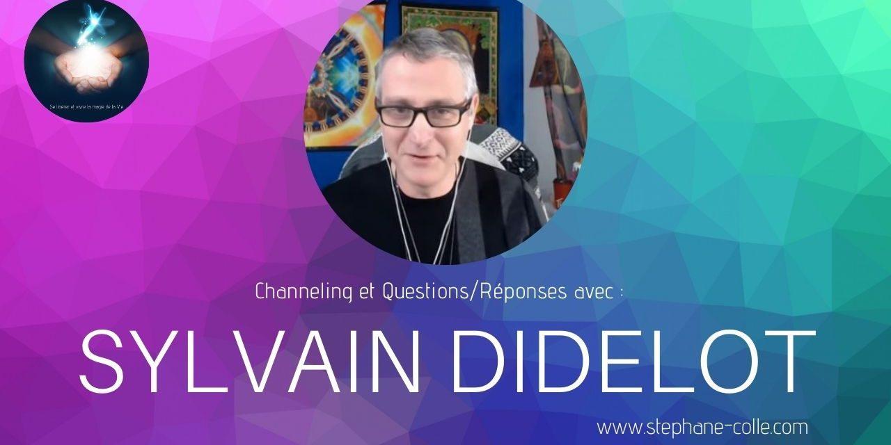 17/02/2021 Sylvain Didelot : «Questions/Réponses» et channeling en direct
