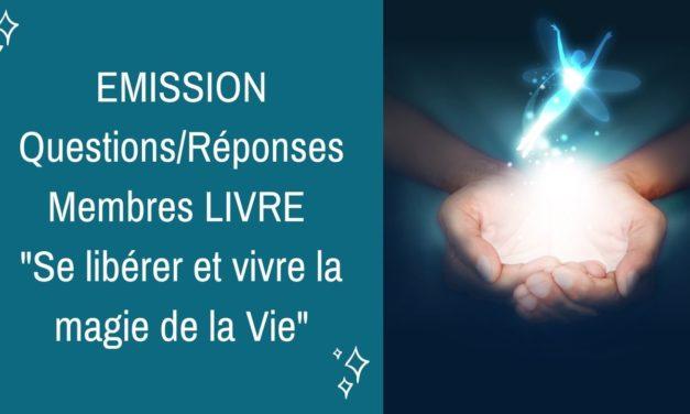13/01/2021  : Emission membres lecteurs du livre Questions/Réponses