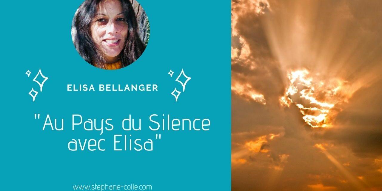 25/03/2021 Une nouvelle invitation au Pays du Silence avec Elisa Bellanger