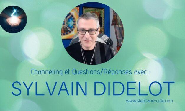 11/08/2021 Sylvain Didelot : «Questions/Réponses» et channeling en direct